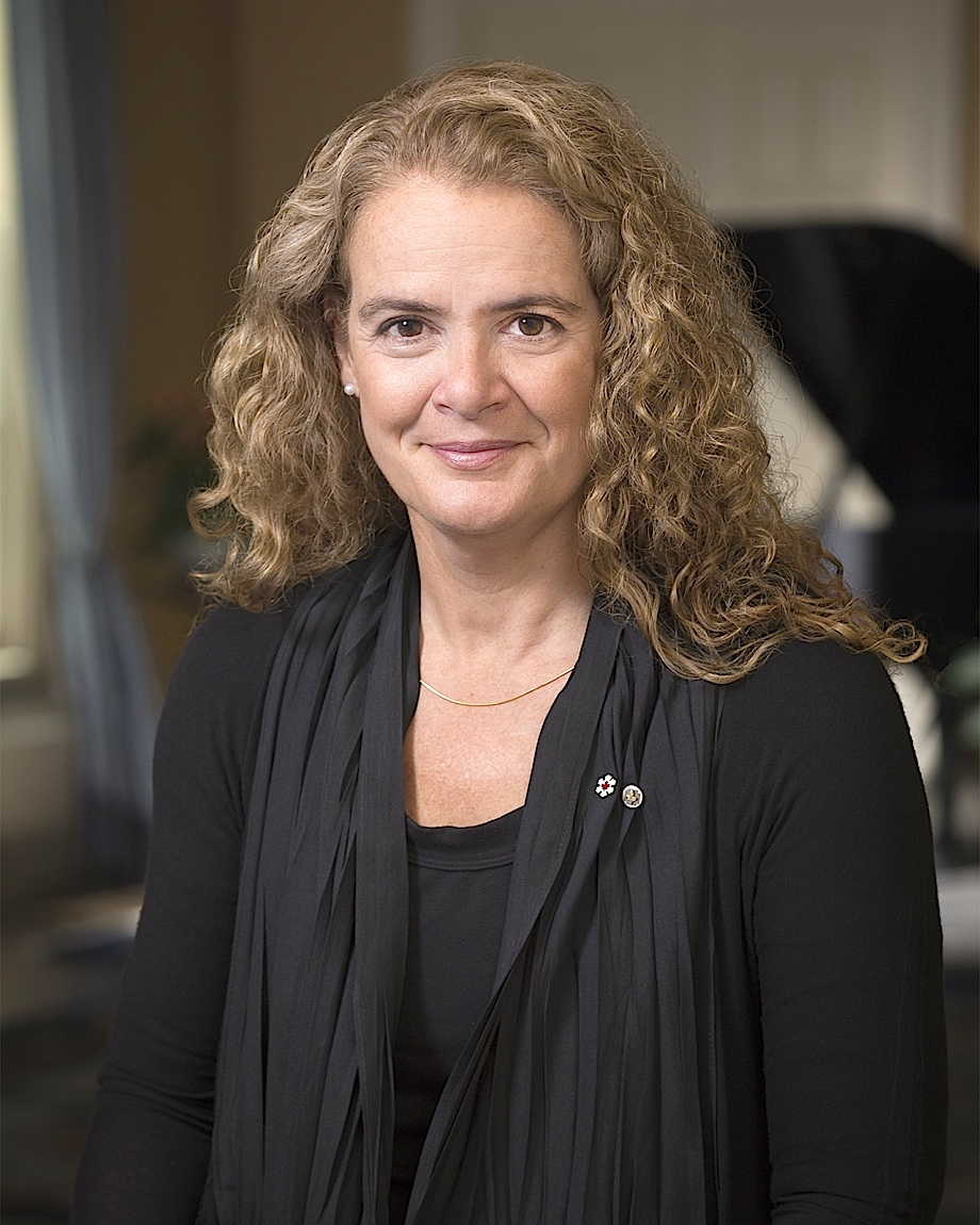 Official Portrait of Julie Payette