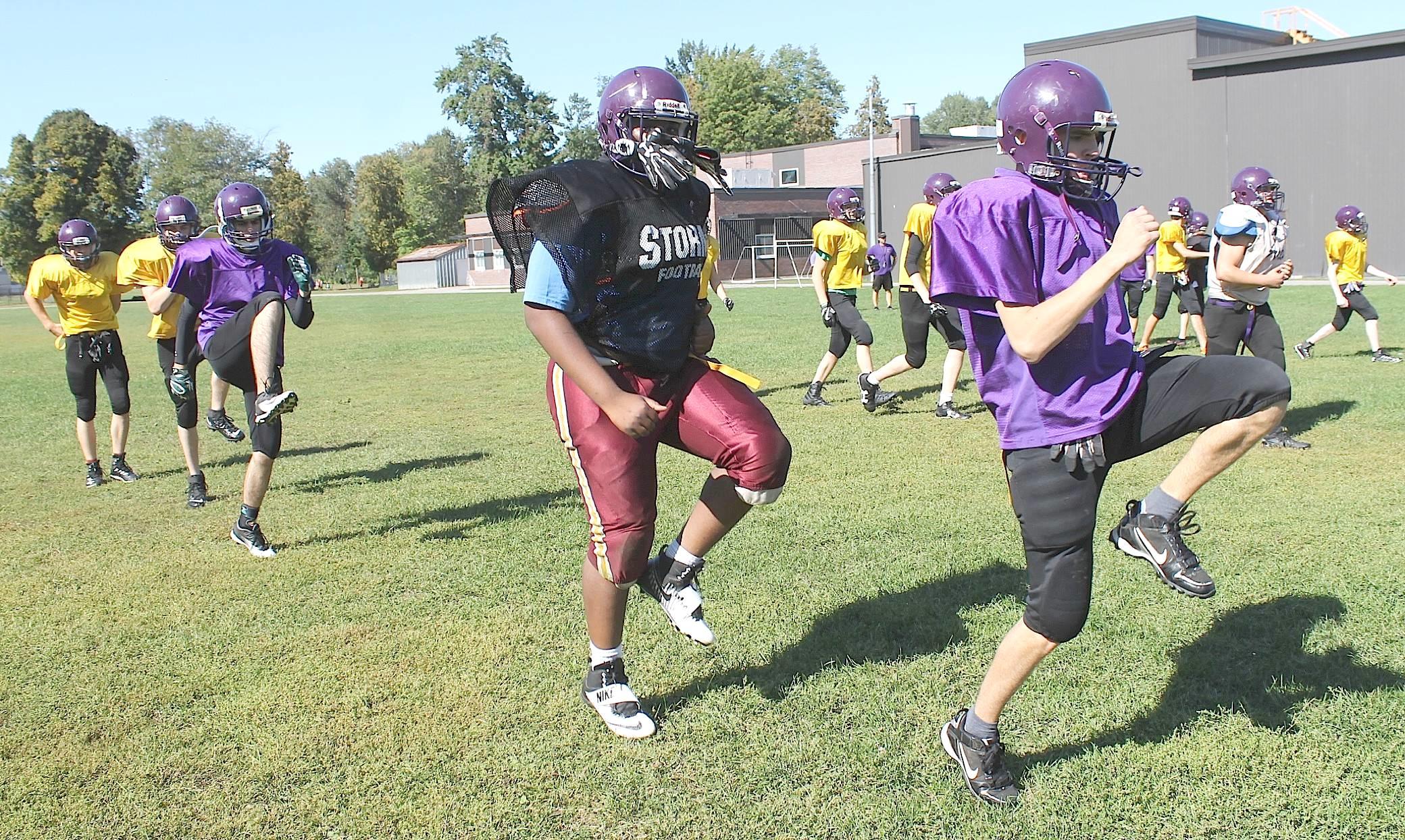 football practice 9c